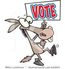 voting donkey