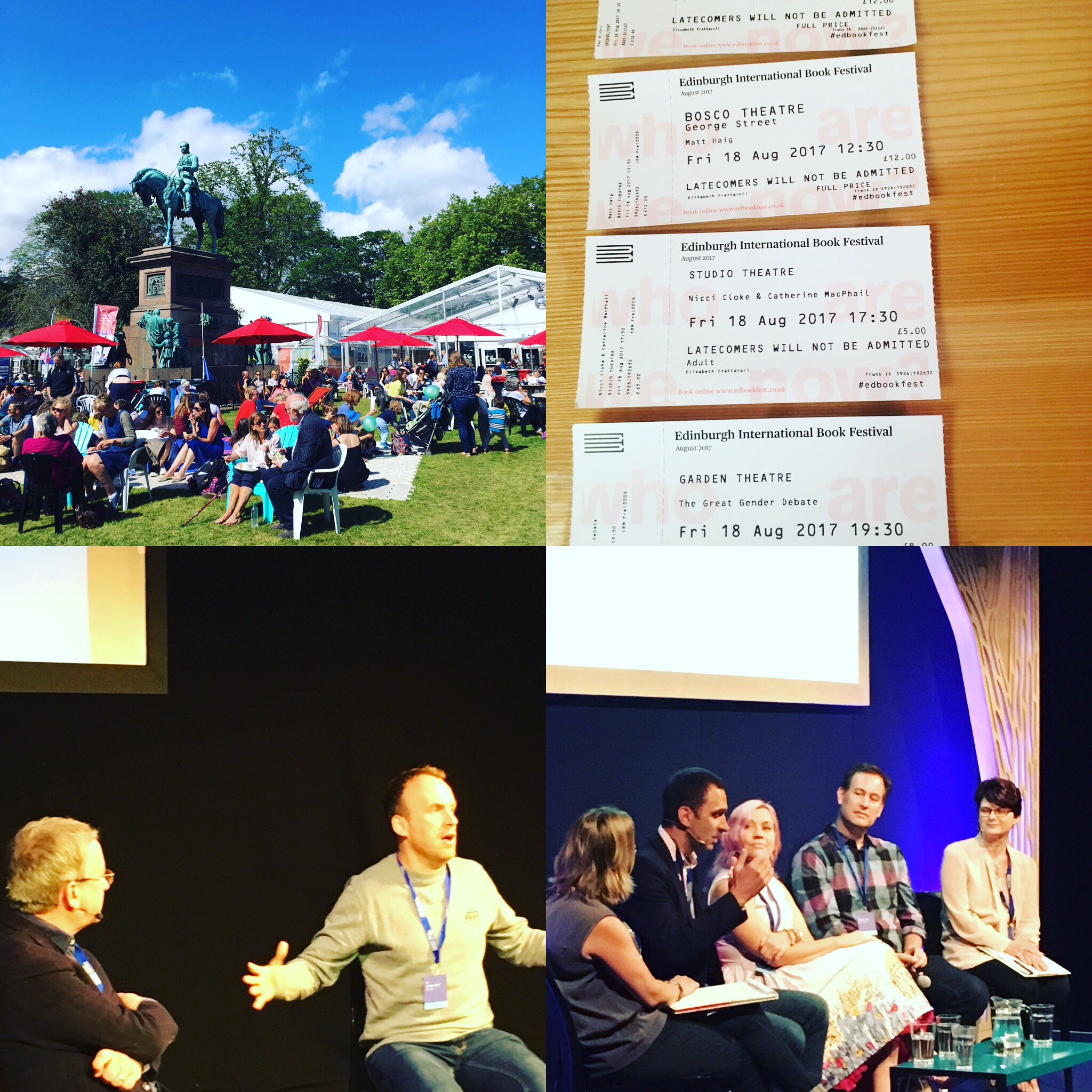The Edinburgh Book Festival Has Quickly Become A Highlight Of My Literary  Year, And This Year I Was Lucky Enough To Include An Overnight Stay In  Edinburgh ...